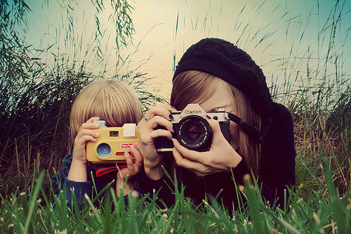 camera, canon, child, cute, gir;, girl