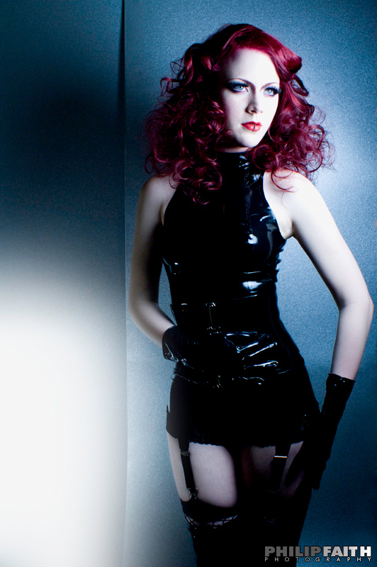 *acidicdivinity, beauty, black dress, black gloves, black latex, deviant art