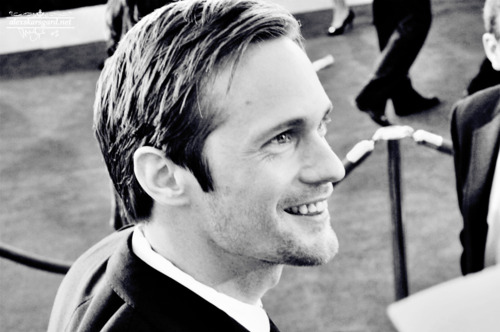 alexander skarsgard, black and white, handsome, hot, man, photography