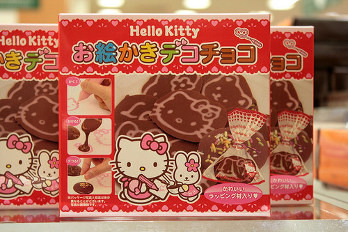 cookies, cute, food, heart, hello kitty, japan