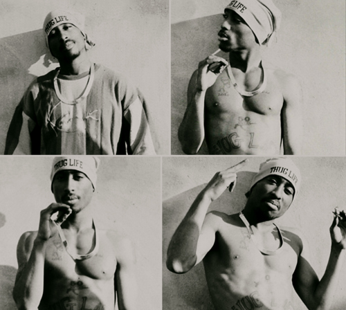2pac, black and white, dope, pac, r.i.p, rapper