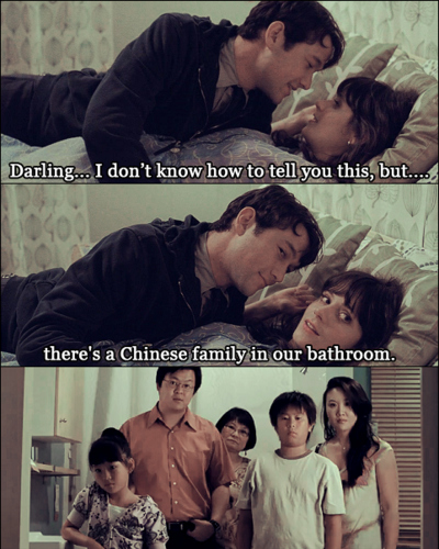 500 days of summer, chinese, couple, funny, joseph gordon-levitt, love