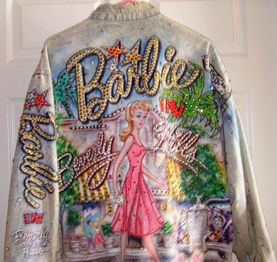 amazing, barbie, cute, denim, diamante, jacket