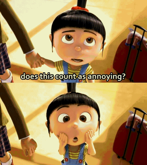 annoying, cute, despicable me, girl