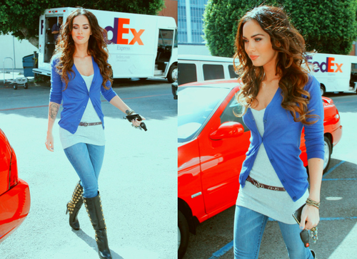 idol, megan fox, pretty, sexy, street