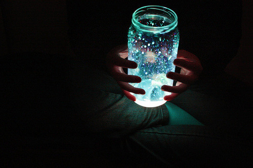 cool, galaxy, jar, jar of hearts, lights