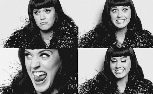 b&w, beautiful, black and white, famous, katy
