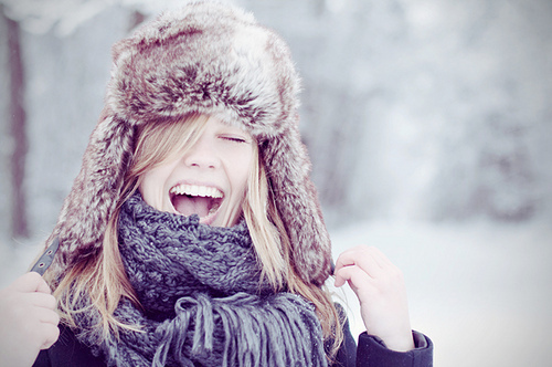 beautiful, blond girl, blonde, christmas, cold