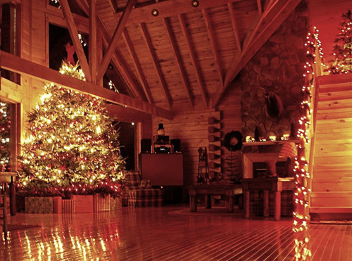 christmas, christmas tree, cosy, cozy, home  image 113332 on Favim