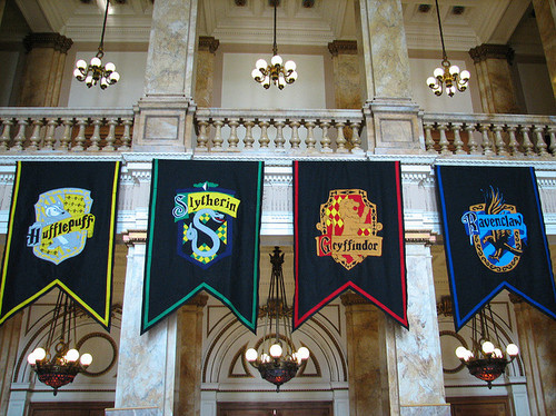 banner, gryffindor, harry potter, houses, hufflepuff