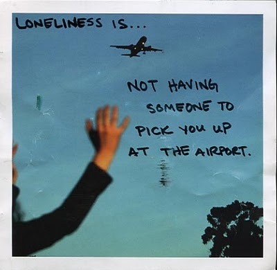 airport, loneliness, postsecret, secret