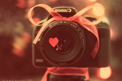 bokeh, camera, canon and heart