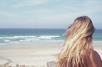 Beach Hairstyles on Beach  Hair  Mfotos Para Inspirar  Ocean  Sea   Inspiring Picture On
