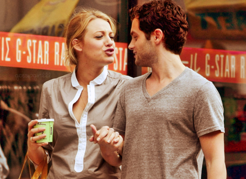 blake lively, couple, gossip girl, penn badgley