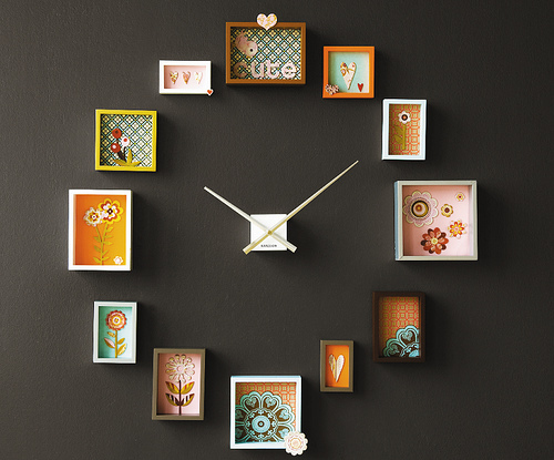 clock, creative, cute, design, time