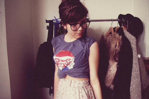 cute, girl, nerd glasses, nerdfromparis, photography