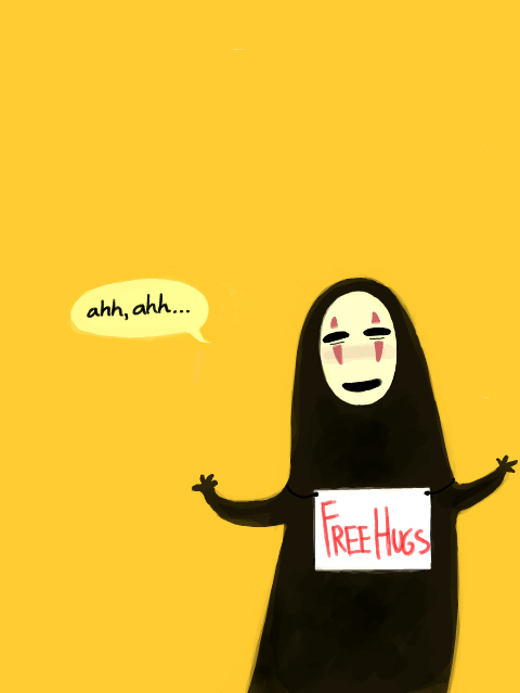 cartoon, chiriro, free, hugs