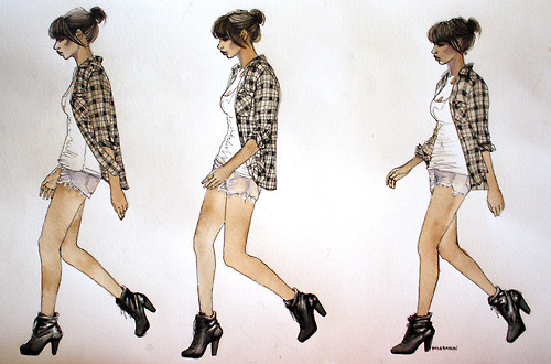 draw, drawing, fashion, girl, nerdfromparis, sexy, sketch