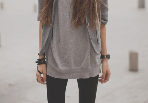 fashion, girl, hair, leggings, legs