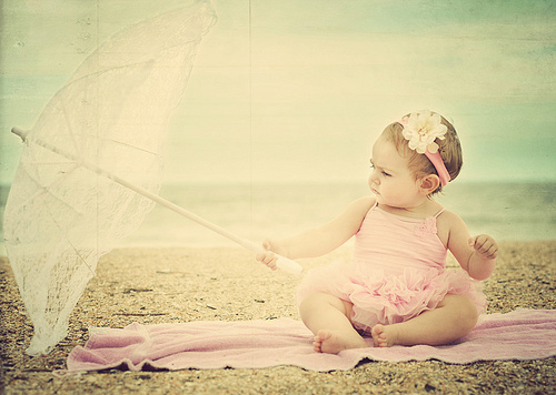 baby, beach, child, cute, girl