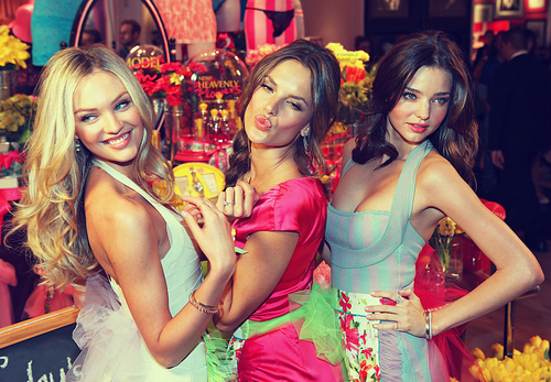 alessandra, angels, candice, miranda, models, victoria secret