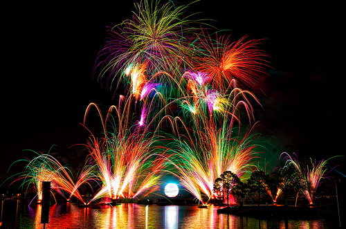 amazing, beautiful, disney, enchanted, enchanting, fireworks, magical