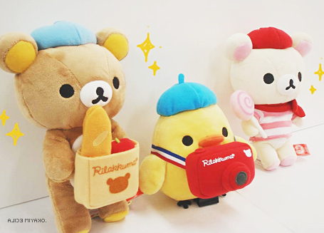 alicemiyako, asian, bear, cute, friends