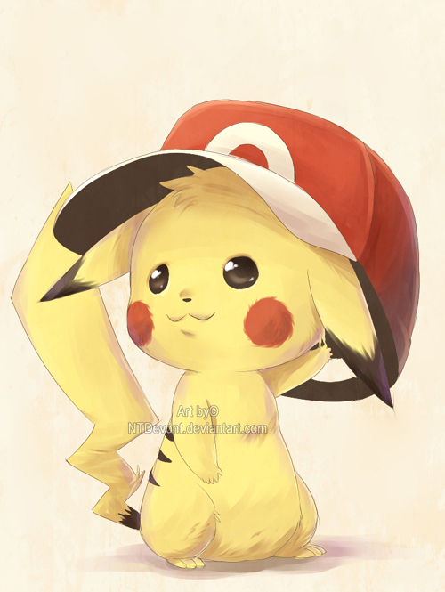 cute, pekatchooo, pikachu, pokemon - image #122157 on ...