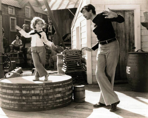 1930s, 1936, buddy ebsen, captain january, classic hollywood, dance, shirley temple, vintage