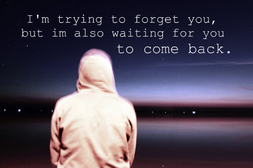 boy, forget, forgot, leaving, lights, love, night, quote, text, trying, waiting, words