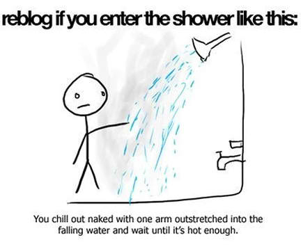 cartoon, funny, shower, stick man, true