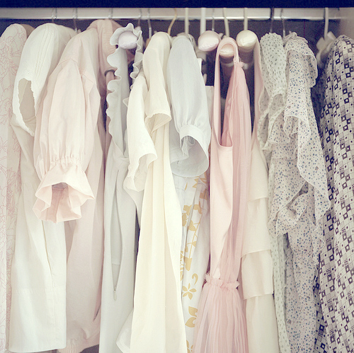 clothing, clothing racks, fashion, girly, lacey