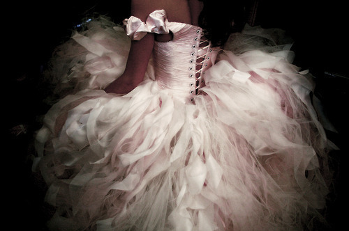 corset, fshion, gown, pink, pretty