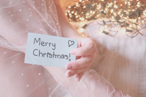 adorable, by melina souza, christmas, creative, criativa, cute, feliz natal, honey pie, honeypie, lights, luzes, melinwonderland, merrychristmas, natal, post it, postit, soft tones, tule, tulle