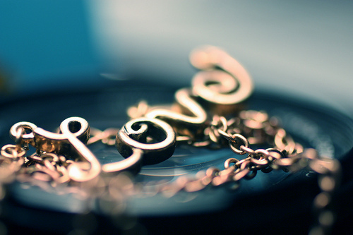 beautiful, blue, boy, cute, girl, gold, jewelry, love, macro, photo, photography, pretty, text, typography, vintage