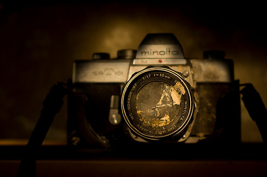 art, brown, camera, color, dirty, minolta, nostalgia, nostalgic, painted with light, photography, retro, still life, vintage