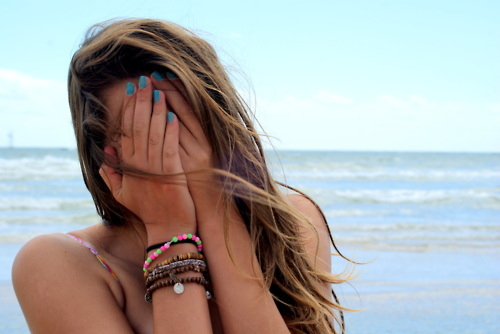 beach, bikini, blue, boxing day, bracelet, brown, female, georgia, girl, gorgeous, hair, nail polish, nails, ocean, pretty, sea, sky, stunning, summer, tan, tanned, waves