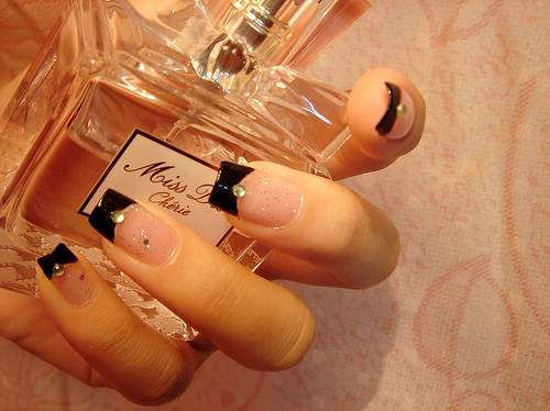 cherie, cute, dior, lovely, miss, nails, perfum, pink, sweet
