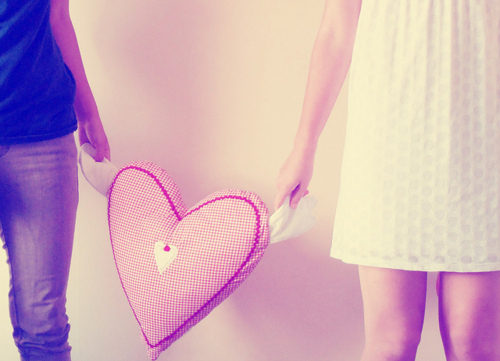 heart, photography, pillow, pink, red