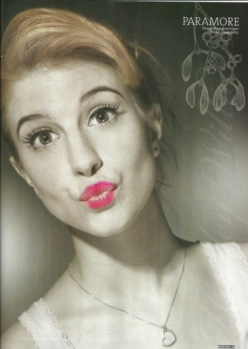 duckface, girl, hayley, hayley williams, kiss