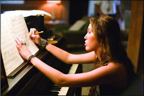 girl, miley cyrus, piano, the last song