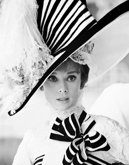 audrey hepburn, black and white, my fair lady, photography