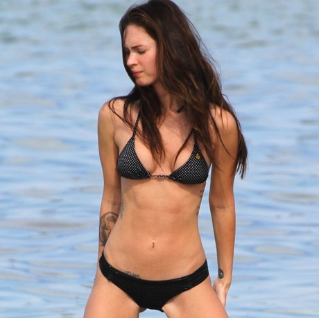 beach, bikini, celebrity, fashion bikini, fox, lake, megan, megan fox, swim, swimsuit